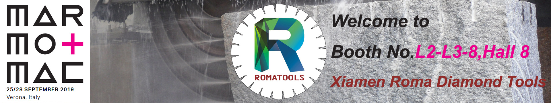 ROMATOOLS MARMOMAC 2019