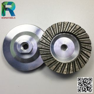 100mm Aluminium Turbo Cup Wheels
